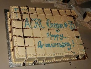 ACRL Oregon 35th Anniversary cake