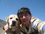 image of Faye Chadwell and dog