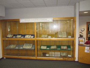 Some of NCU's early English bibles