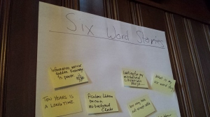 ACRL-OR | 6-word stories from Menucha