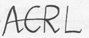 ACRL-Oregon logo 1970s