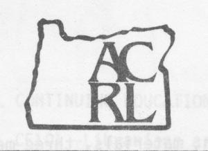 ACRL-Oregon logo 1980s