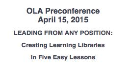 OLA Preconference 2015