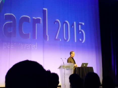ACRL Closing Keynote speaker Lawrence Lessig