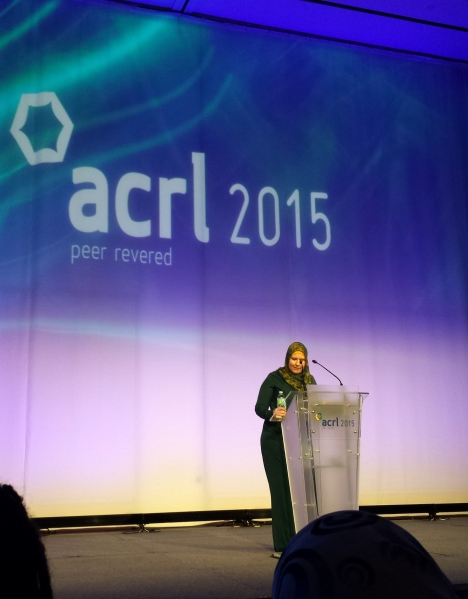 ACRL Opening Keynote speaker G. Willow Wilson