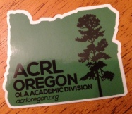 ACRL-Oregon sticker