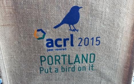 ACRL 2015 tote bag