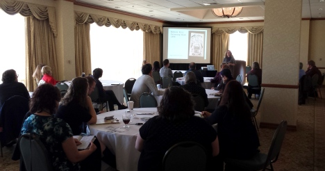 "The well-attended ACRL-OR sponsored program and workshop, ""Zines 101"""