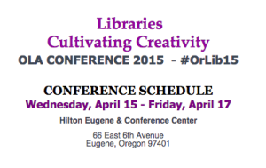 OLA 2015 Conference Schedule