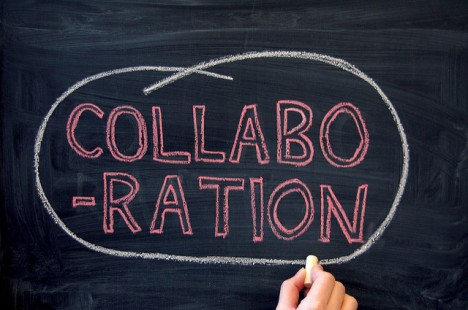 Collaboration graphic