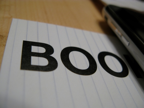 Picture of the word Boo