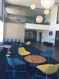 Photograph of Library vestibule