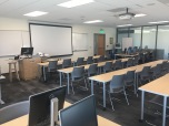 Photograph of the New second-floor classroom