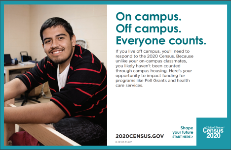 Campus Census Advertisement