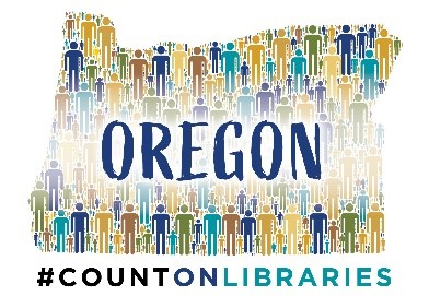 #countonlibraries logo
